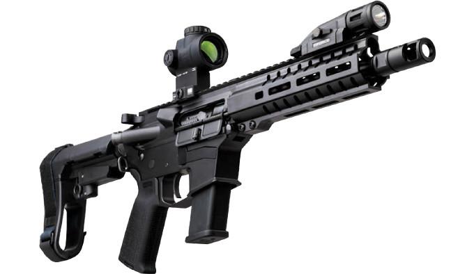 компактный карабин формата AR в калибре 10 мм