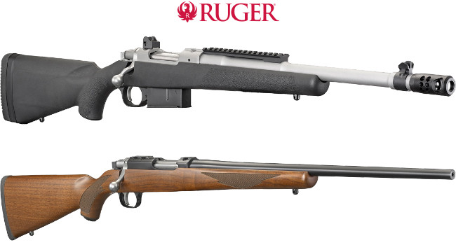 винтовки Ruger Scout и 77/17