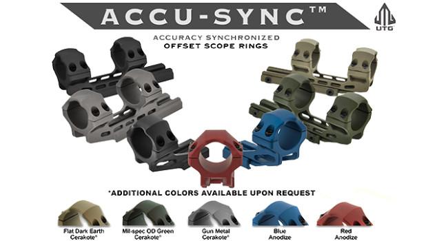 модели креплений UTG Accu-Sync