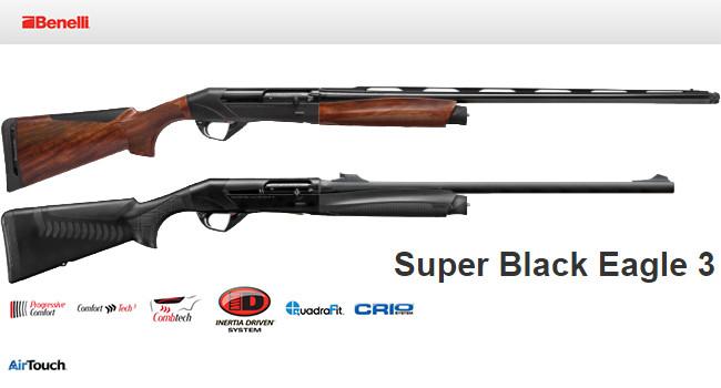 ружья Benelli Super Black Eagle 3