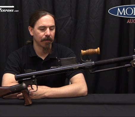 Учебный японский пулемёт Второй Мировой Войны