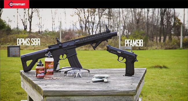 Карабин DPMS SBR и пистолет PFAM9B