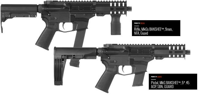 Винтовки CMMG 9 мм и .45 ACP