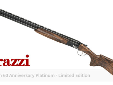 Юбилейный выпуск ружей Perazzi High Tech 60 Anniversary Platinum Limited Edition