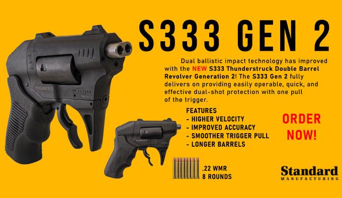 малокалиберный револьвер Standard Manufacturing S333