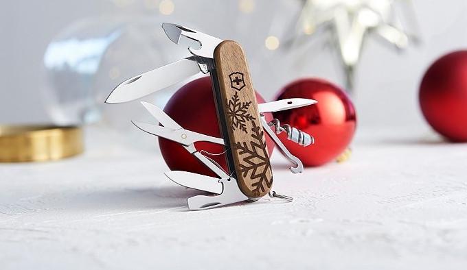 многофункциональный складной нож новогодней подарочной серии