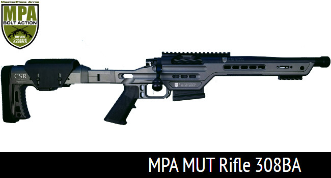 Винтовка MPA MUT 308BA со стандартной длиной ствола