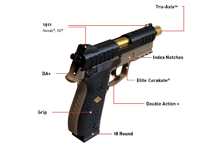 Пистолет Lionheart Regulus Alpha