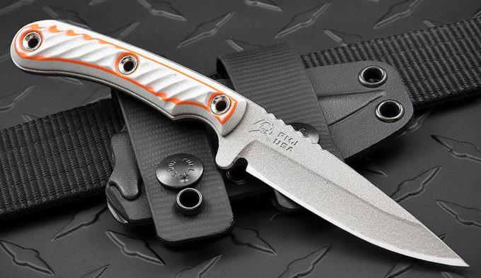 универсальный нескладной нож с Cerakote покрытием