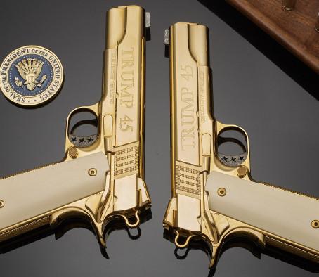 Коллекционный пистолет Cabot Guns The Trump 45