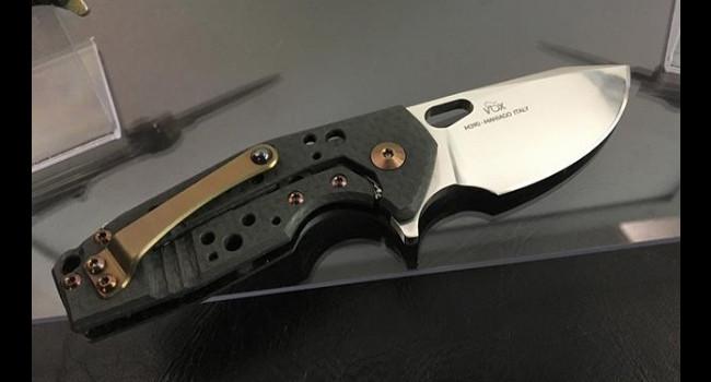 Нож Fox SURU с клинком из M390 справа