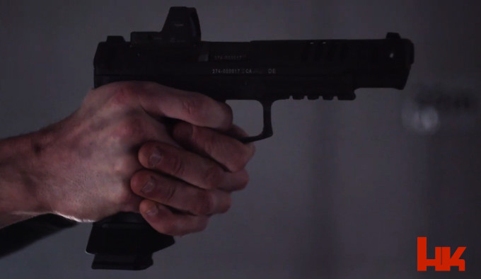 Спортивный пистолет HK SFP9 Match OR