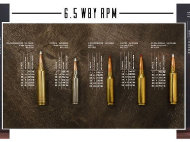 Патрон Weatherby 6.5 RPM