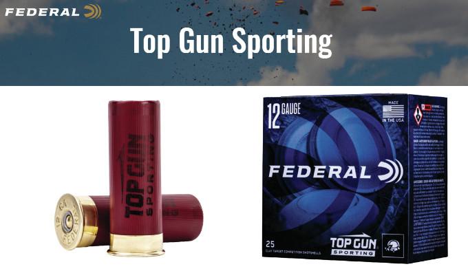 Спортивные гладкоствольные патроны Federal Top Gun Sporting