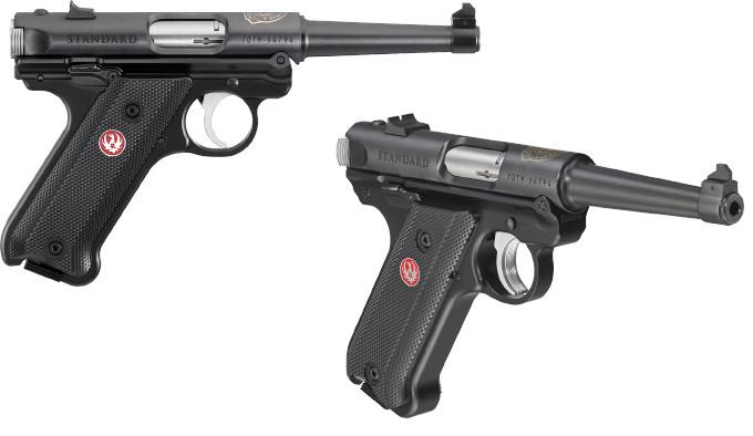 Юбилейный пистолет Ruger Mark IV Standard