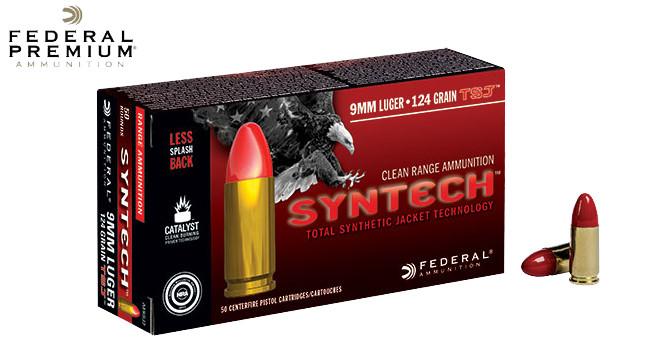 Новые патроны Federal Syntech 9 мм Luger