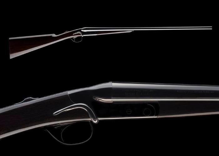 Черное ружье Beretta Custom Grade Atelier 490 Serpentina