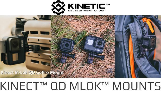Крепления KDG Kinect M-Lok для камеры GoPro