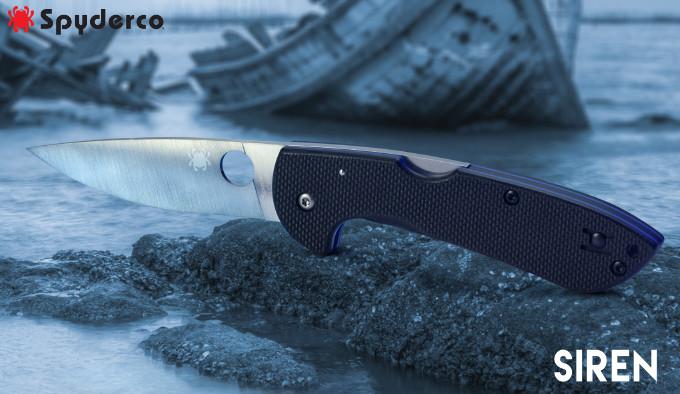 складной нож для рыбалки с клинком из стали LC200N