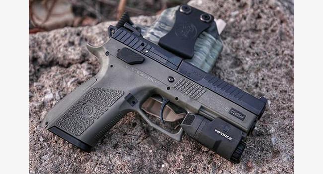 пистолеты CZ P-07 и P-09 OD Green