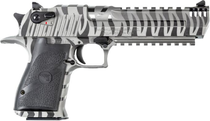 Пистолет Magnum Research White Tiger Desert Eagle справа