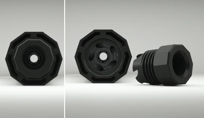 крышки и адаптеры оружейного глушителя The Mute