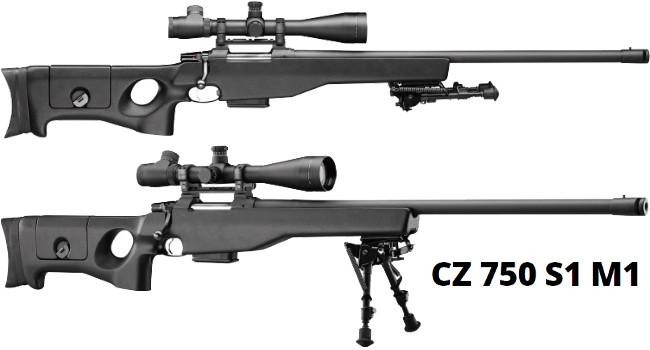 винтовка CZ-750 S1  M1