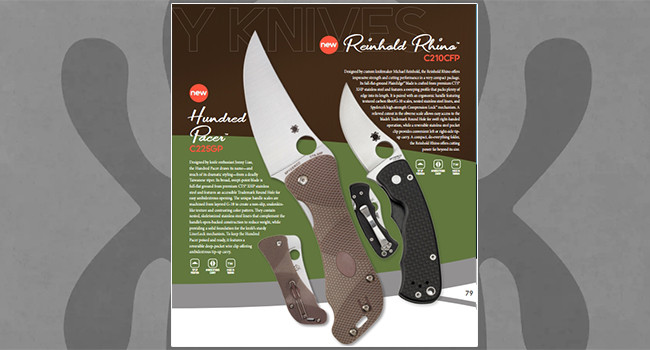 Нож Spyderco Reinhold Rhino