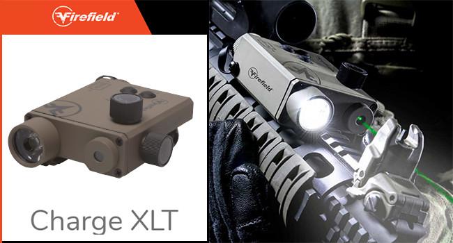 Комбинированный фонарь и лазерный целеуказатель Firefield Charge XLT