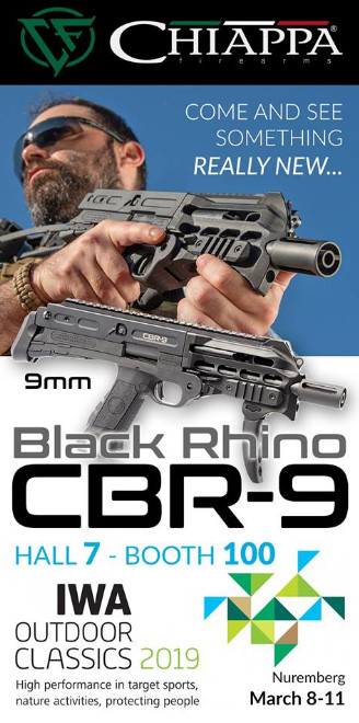 Chiappa Black Rhino CBR9 на IWA