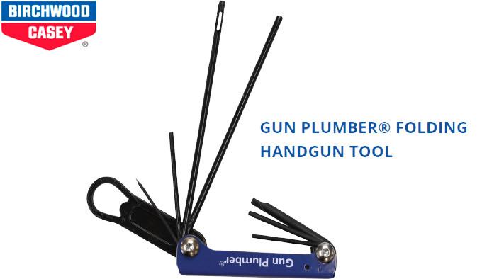 Пистолетный мультиинструмент Birchwood Casey Gun Plumber