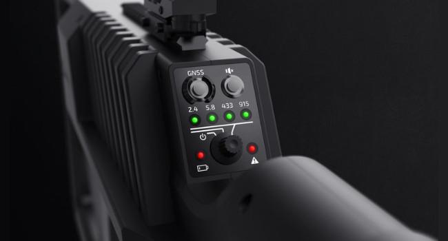 панель управления DroneShield DroneGun Tactical