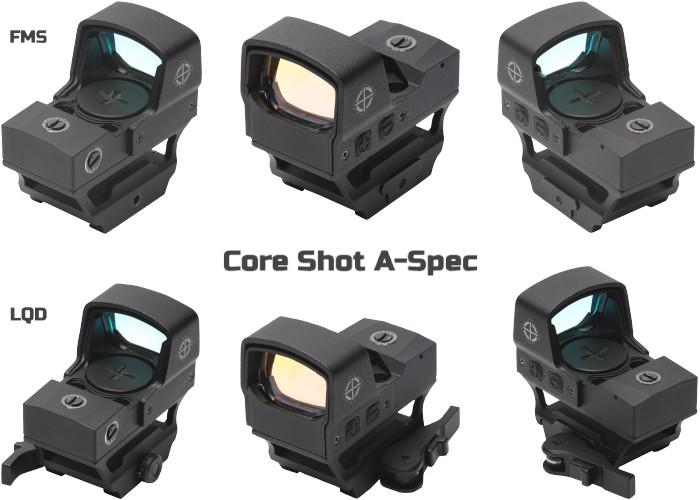 Коллиматорные прицелы Sightmark Core Shot A-Spec FMS и LQD