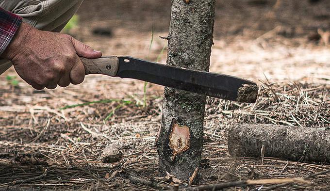 нож Buck 108 Compadre Froe
