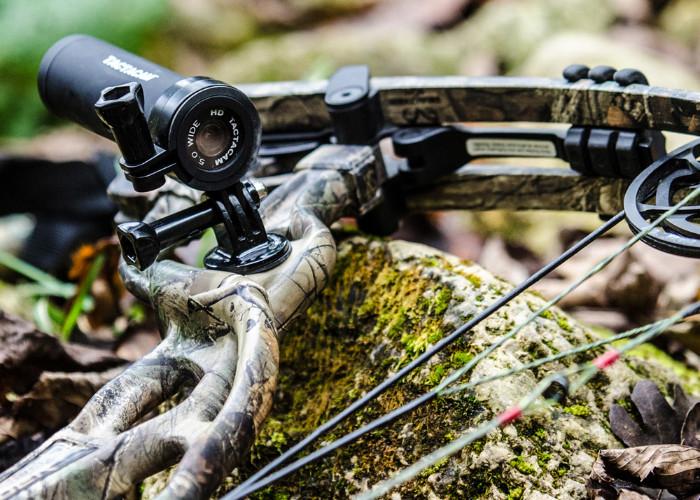 Оружейная видеокамера Tactacam 5.0 на луке