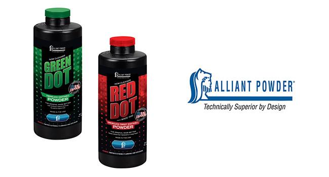 Новые пороха от Alliant Powder Red Dot и Green Dot