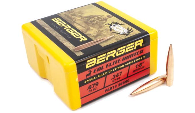 Пули Berger 6,5 mm EOL Elite Hunter