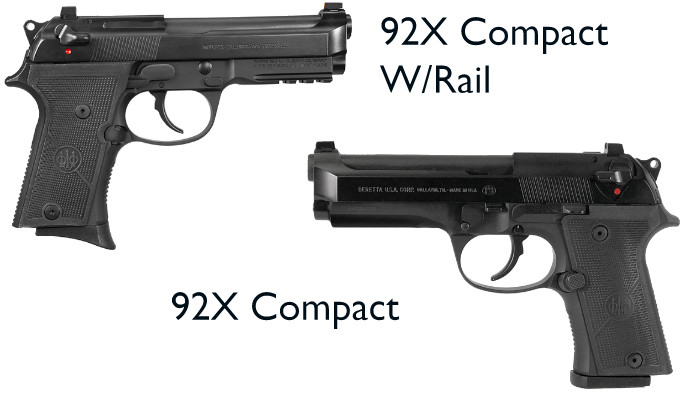 Пистолет Beretta 92X Compact и Compact W/Rail