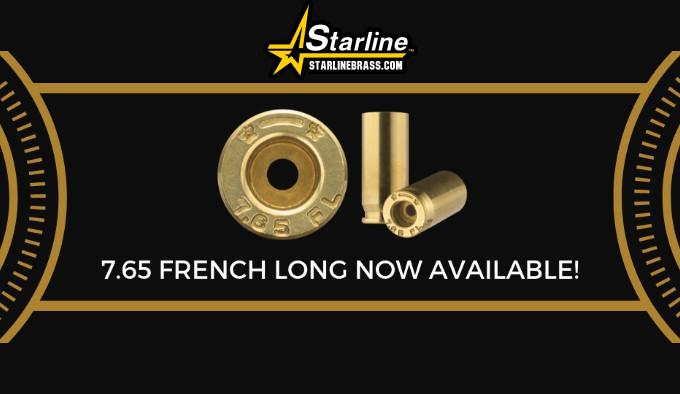 Гильзы Starline 7,65х20 Long