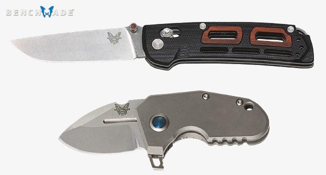 Новые ножи Benchmade Saibu и mPR