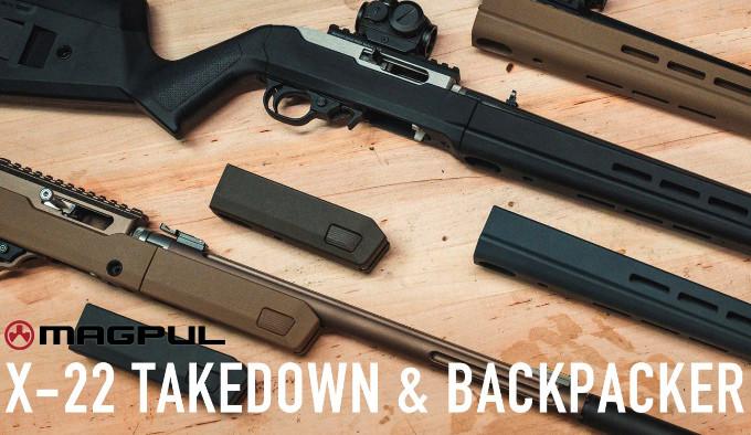 Цевья Magpul X-22 Backpacker и Takedown