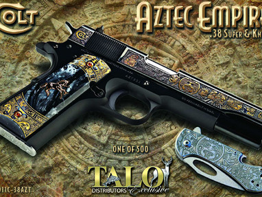 Пистолет Colt Aztec Empire O1911C-38AZT