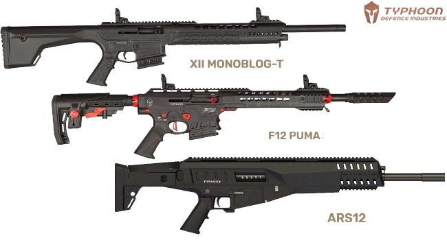 карабины Typhoon Defense XII, F12 и ARS12