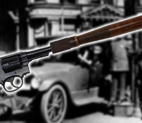Револьвер-дубинка S&W Military & Police Truncheon