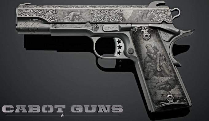 Пистолет Cabot Guns Dante's Inferno
