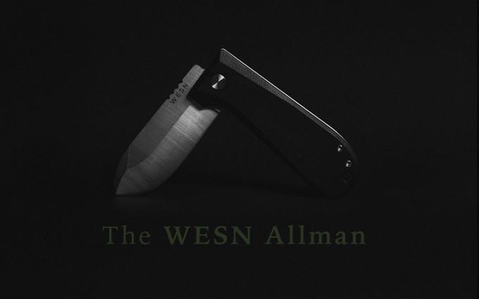 Нож WESN Allman