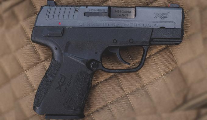 модифицированный пистолет для самозащиты в калибре 9mm Luger