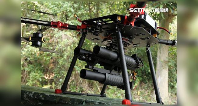 дрон с гранатометным комплексом