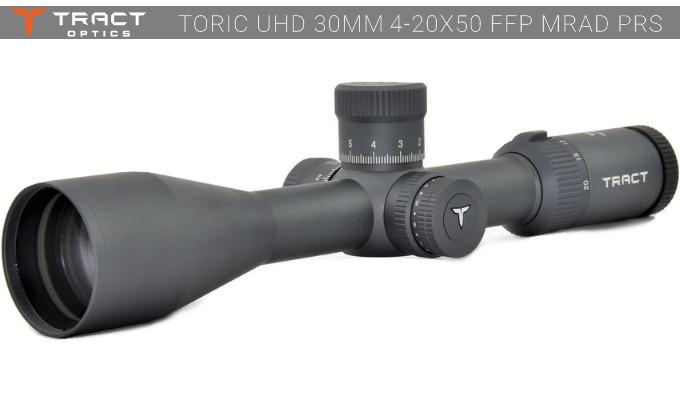 Прицел Tract TORIC UHD 30mm 4-20x50 FFP MRAD PRS
