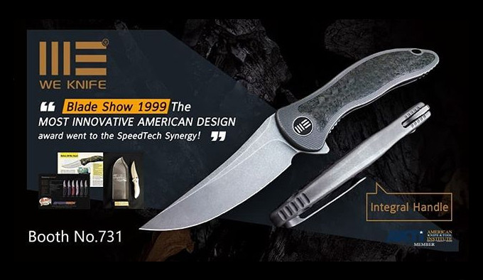 афиша ножа WE Knife Co Synergy 2